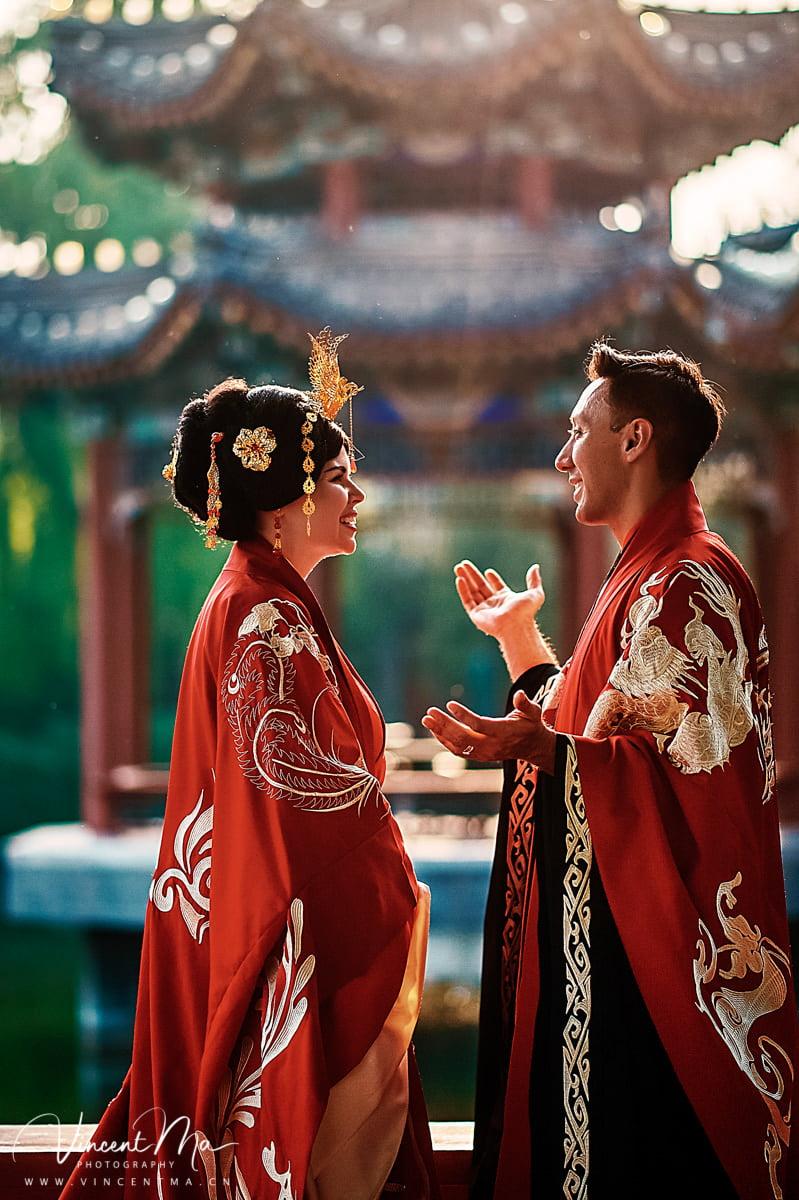 北京郡王府 中式古装婚礼 北京婚礼记实摄影 Bejing wedding photographer